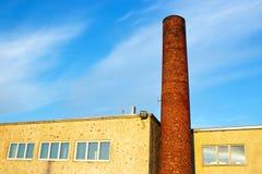 Ziegelstein Smokestack Lizenzfreies Stockbild