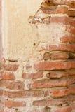 Ziegelstein-Spalten-Detail Stockfotografie