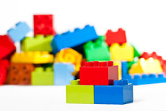 Ziegelstein-Spielwaren Stockfotografie