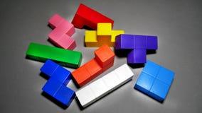 Ziegelstein-Spielzeug für Kinder Lizenzfreies Stockfoto