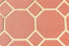 Ziegelstein-Steinfliesen stockfoto