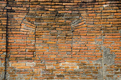 Ziegelstein-Tür-Palast Lizenzfreies Stockbild