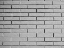 Ziegelstein-Tapete, Weiß und Schwarzes Stockfotos