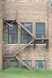 Ziegelstein-Treppenhaus Lizenzfreies Stockbild