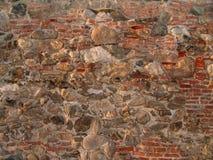 Ziegelstein- und Felsenbeschaffenheit Stockbild