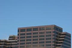 Ziegelstein und Glas Lizenzfreies Stockfoto