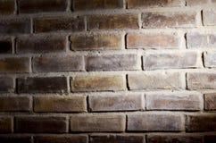 Ziegelstein- und Schattenhintergrund Lizenzfreies Stockfoto