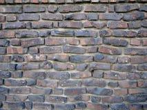 Ziegelstein-und Zement-Wand Lizenzfreie Stockfotos