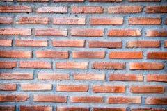 Ziegelstein verwitterte befleckte alte Backsteinmauer Lizenzfreie Stockfotografie
