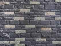 Ziegelstein-Wandhintergrund Stockbild