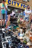 Ziegelstein-Weg-Markt 4 Lizenzfreie Stockfotos
