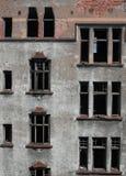 Ziegelstein zerstörtes wall1 Lizenzfreie Stockfotografie