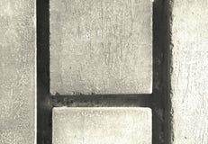 Ziegelsteinauszug Stockbild