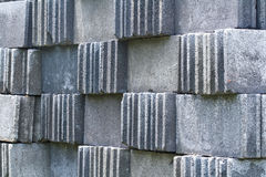 Ziegelsteinblock. Lizenzfreie Stockfotografie