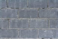 Ziegelsteinblockwand Stockfotos