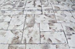 Ziegelsteinboden Stockbilder