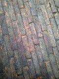 Ziegelsteinboden Stockfoto