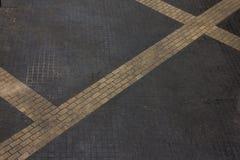 Ziegelsteinboden Stockfotografie