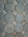 Ziegelsteinboden Stockfotos