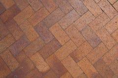 Ziegelsteinchevron-Muster Stockfotos