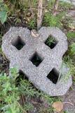 Ziegelsteine aus den Grund stockfotos