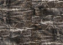 Ziegelsteine blockiert Steinwandbeschaffenheit, Natursteinbeschaffenheit Lizenzfreie Stockfotos