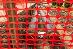 Ziegelsteine, die draußen legen Lizenzfreies Stockfoto