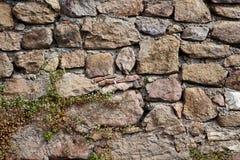 Ziegelsteine eines alten Schlosses Lizenzfreie Stockbilder