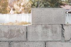 Ziegelsteine für Aufbau Lizenzfreie Stockfotografie
