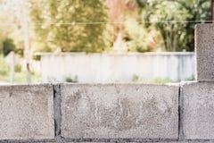Ziegelsteine für Aufbau Stockfotos