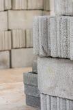 Ziegelsteine für Aufbau Lizenzfreie Stockbilder