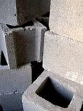 Ziegelsteine? im Bau Stockbild