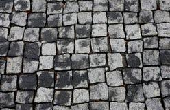 Ziegelsteine und Pflasterung Stockbild