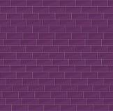 Ziegelsteine vector nahtloses Muster Lizenzfreies Stockfoto