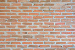 Ziegelsteine Wände, Wände der roten Backsteine Lizenzfreies Stockfoto