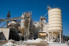 Ziegelsteinfabrik Stockfoto