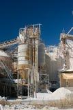 Ziegelsteinfabrik Stockbild