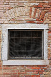 Ziegelsteinfenster Stockfotos
