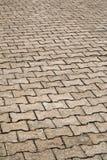 Ziegelsteinfußbodenhintergrund Stockfotografie