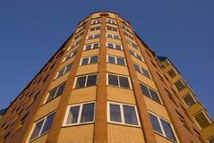 Ziegelsteinhaus Stockfoto