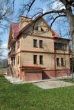 Ziegelsteinhaus Stockbilder