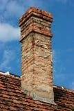 Ziegelsteinkamin Stockbilder