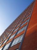 Ziegelsteinkontrollturm Stockfoto