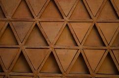 Ziegelsteinrot-Mosaikbeschaffenheit Stockbilder
