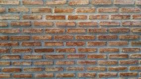 Ziegelsteinschicht-Bauhintergrund Stockbild