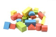 Ziegelsteinspielzeug Stockfotos