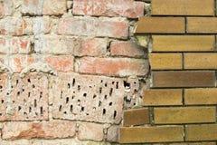 Ziegelsteinstruktur Lizenzfreies Stockbild
