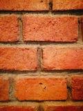 Ziegelsteinwanddekoration Stockfotografie
