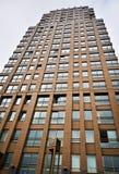 Ziegelsteinwolkenkratzer in Rotterdam lizenzfreie stockfotografie
