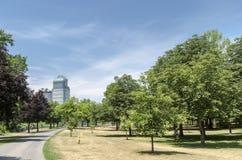 Ziegen-Insel-Park Stockfotos